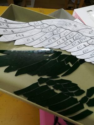 ペガサスの翼部分