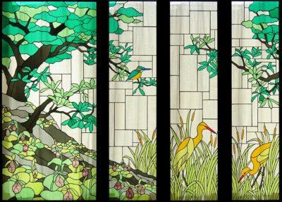 自然のステンドグラス「見沼田んぼ」