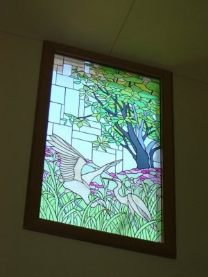 自然のステンドグラス「見沼田んぼ2」