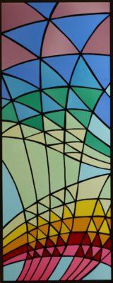 幾何学ステンドグラス「希望」